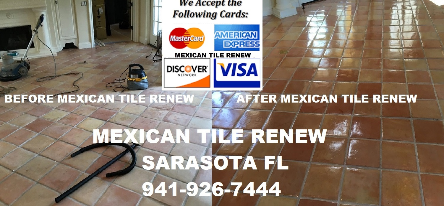 Mexican Tile Refinish