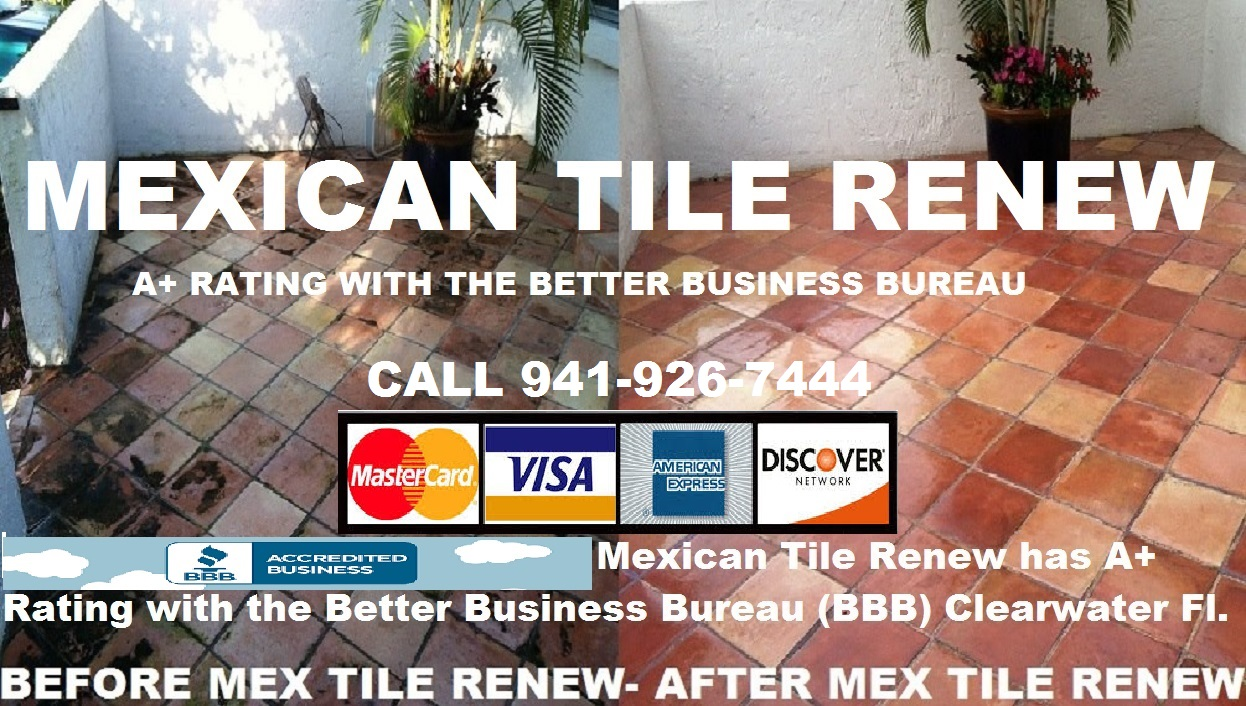 Mexican tile renew home since 1995 refinishing mexican tile floors dailygadgetfo Image collections